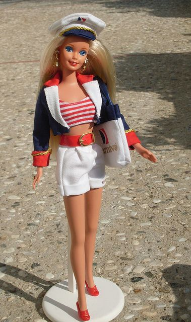Nautical Barbie: Barbie Introducing, Carnival Cruise, Cruises Attire, Barbie 1997, Sailors Barbie, Carnivals Cruises, Barbie Version, Hawaiian Barbie, Barbie Carnivals