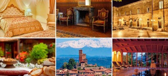 Soggiorno fiabesco in Italia: 1 notte a scelta fra sei eccellenti castelli da soli 29,50€