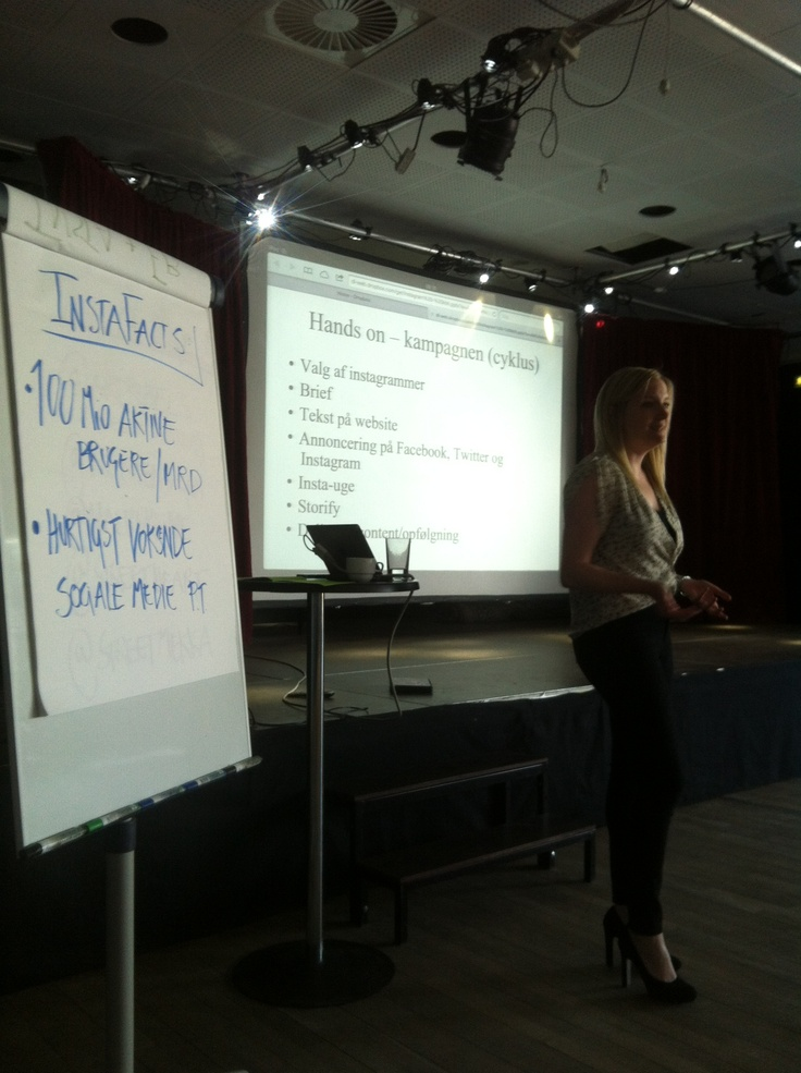 Tina Mellergaard Jensen fra wh_oddjob fortæller godt og sagligt om Instagram og Facebook og hvad de kan sammen. Især ifht ambassadørtanken på Insta. #KFFLIKERS