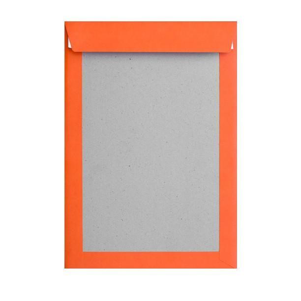 Orange Board Back Pocket Peel & Seal  #envelopes #Pocket #red #black #packaging #Mirrors #bubblebag #sapphire #Metallic #Autumn