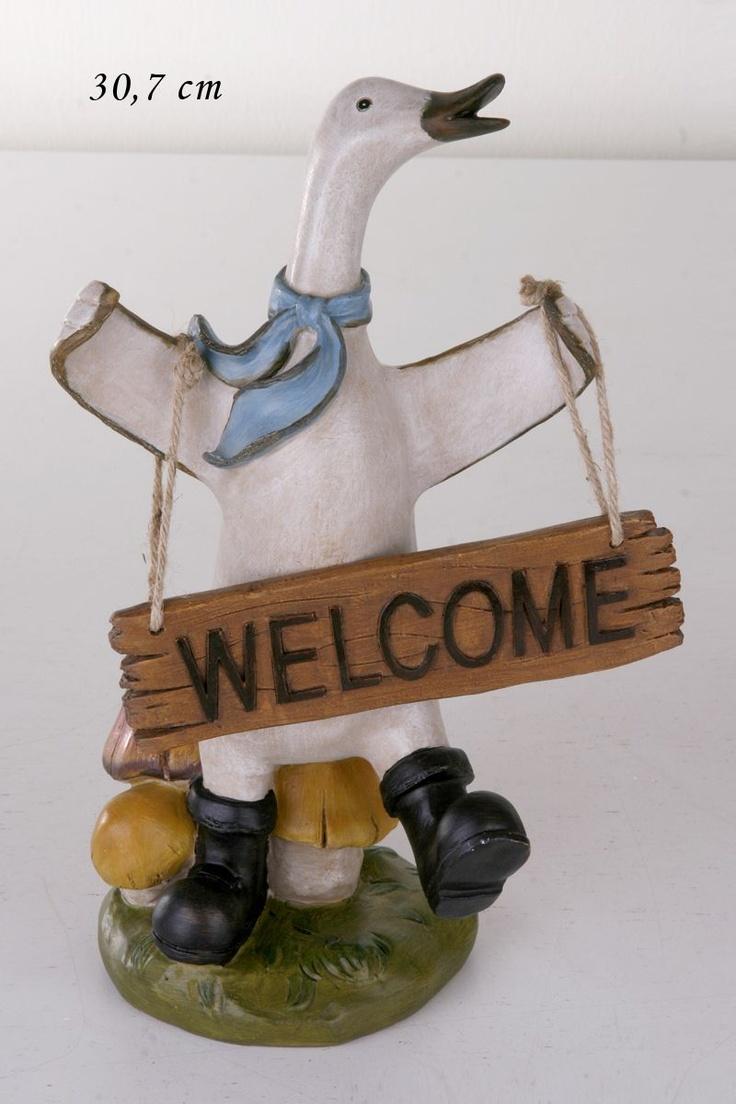 Welcome By Ördek 31 Cm