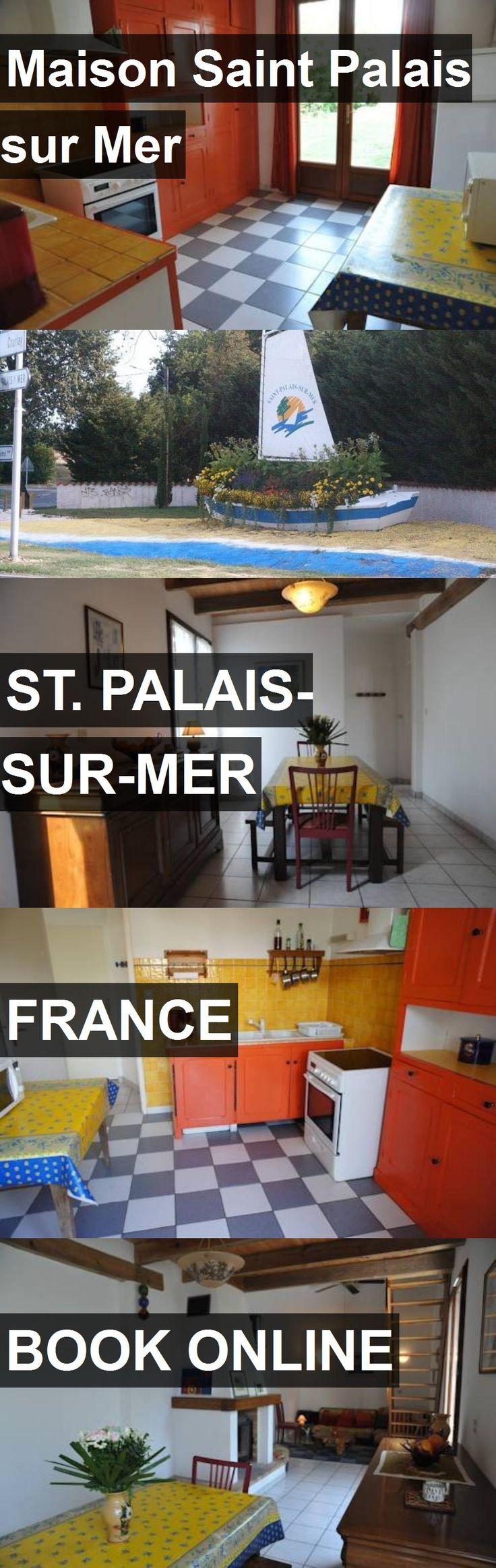 Hotel Maison Saint Palais sur Mer in St. Palais-sur-Mer, France. For more information, photos, reviews and best prices please follow the link. #France #St.Palais-sur-Mer #travel #vacation #hotel