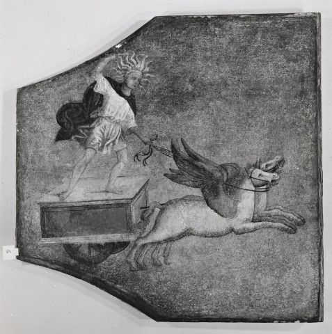The Metropolitan Museum of Art , Pinturicchio School - Chariot of Apollo - insieme, dopo il restauro