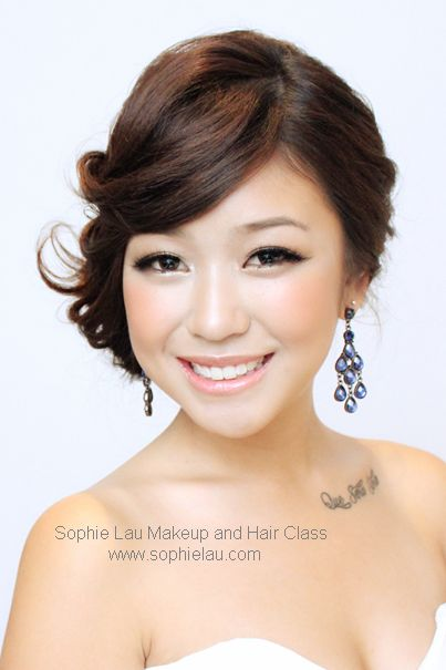 Sophie Lau Makeup And Hair Lesson