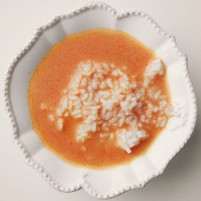Tradycyjna zupa pomidorowa