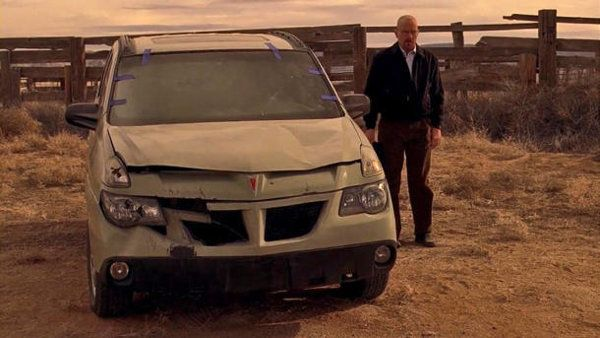 "Walter White's Pontiac Aztek ""Breaking Bad"" prop auction 