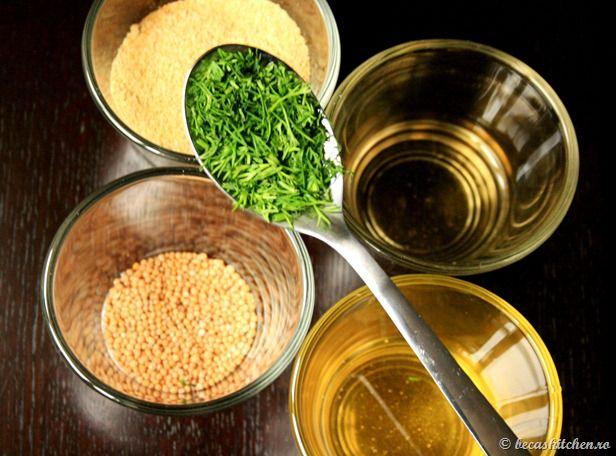 Ingrediente principale mustar de casa
