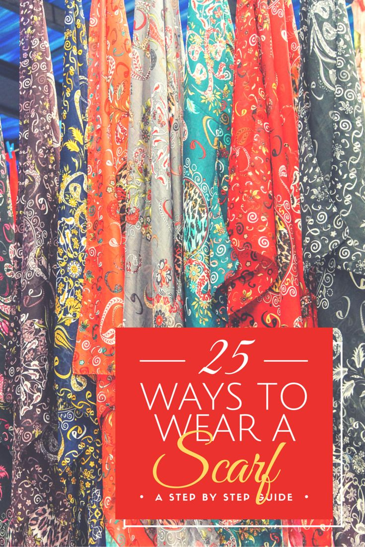 25 ways to wear a scarf winter fashion creative and