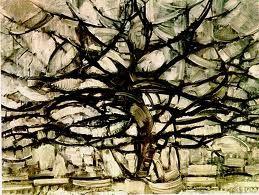 Piet Mondrian, Gray Tree! I want to recreate this