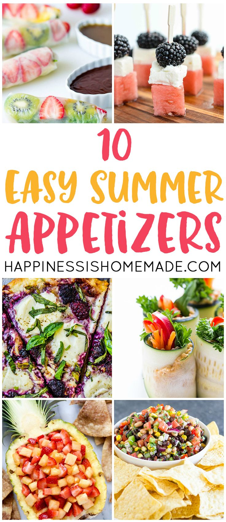 These easy summer appetizer recipes are perfect for your next party! Wow the crowd with these delicious and simple to prepare summer dishes!