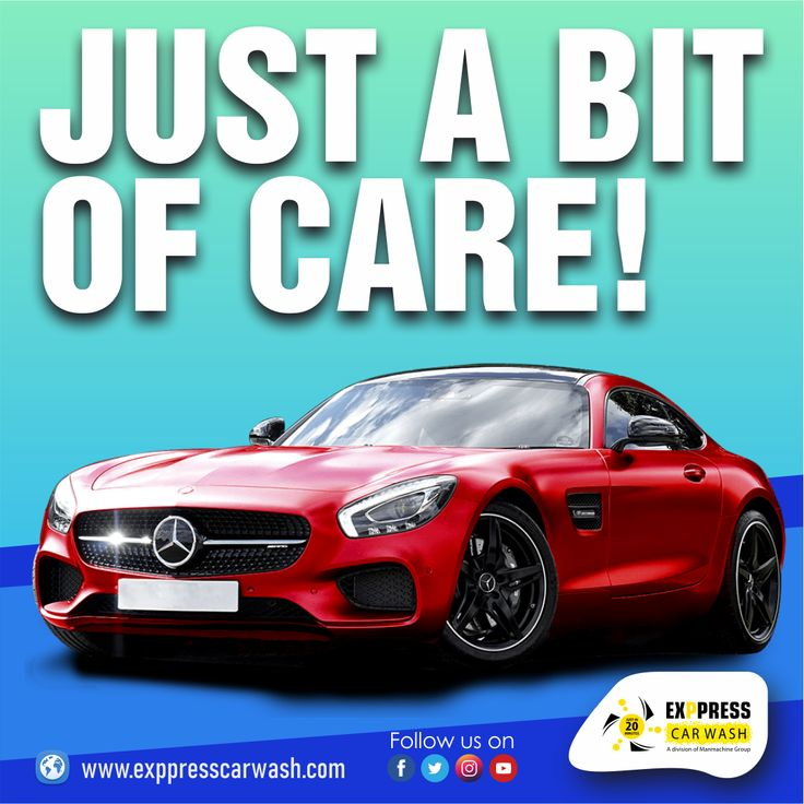 JUST A BIT OF CARE! in 2020 Car wash franchise