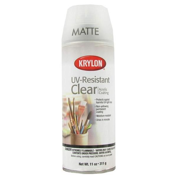 A necessary item with air dry clays. http://shop.hobbylobby.com/products/uv-resistant-acrylic-coating-166231/