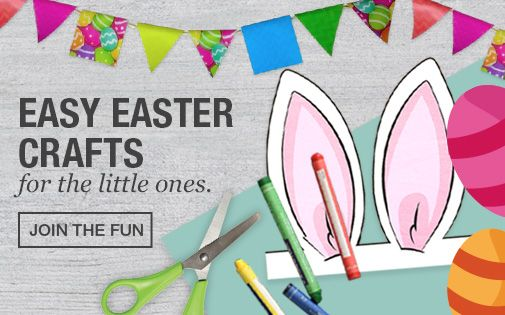 Easy Easter Crafts - Our Easter Craft board has more interesting ideas on how others celebrate these special holidays, pin us your Easter Crafts and stand a chance to win a hamper