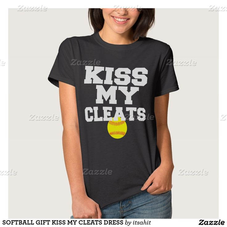 Softball Kiss my Cleats Women's Basic T-Shirt