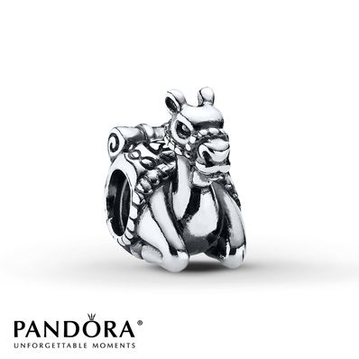 Pandora Charm Camel Sterling Silver