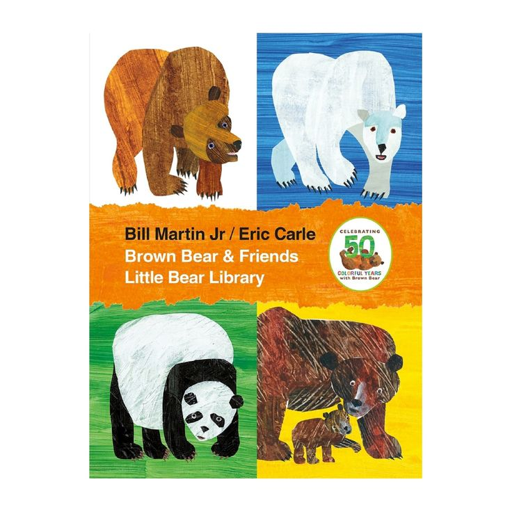 Brown Bear & Friends Little Bear Library by Bill Martin, Eric Carle