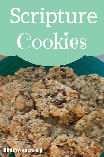 Scripture cookies-create recipe by searching scripture