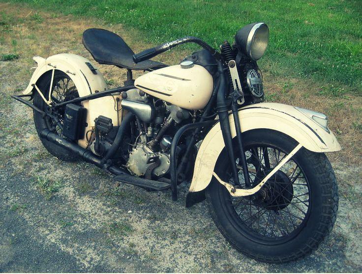 Ebay Finds 1937 Harley El Knucklehead Silodrome Vintage