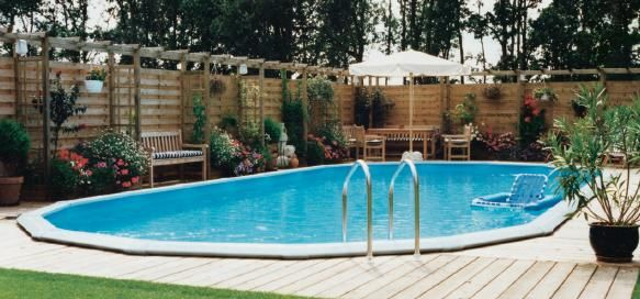 1000 images about pools on pinterest decks swimming pool designs and above ground pool for Doughboy above ground swimming pools