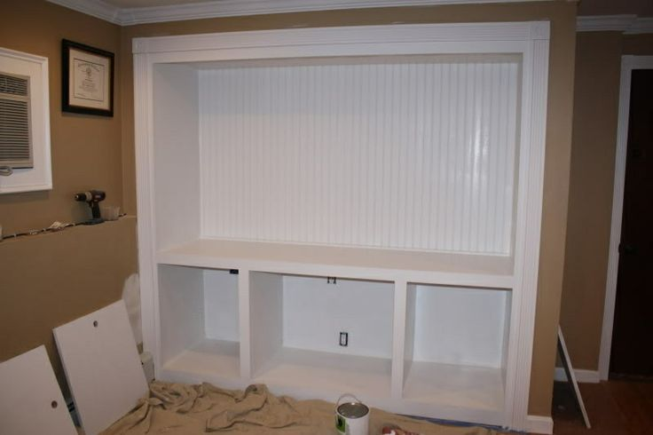 converting a closet into an armoire around the house