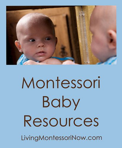 Montessori Baby Resources - Roundup post with LOTS of resources