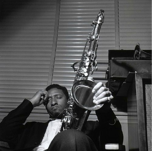 Sonny Rollins photographed by Francis Wolff