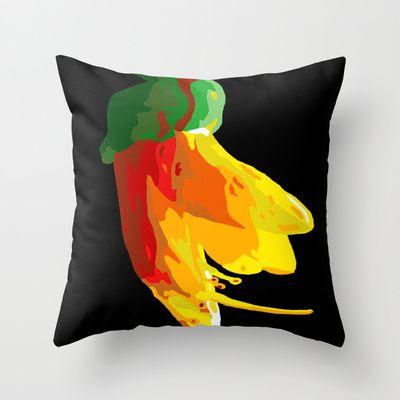 Kowhai Series 4 Throw Pillow by Orm and Just Design - $20.00