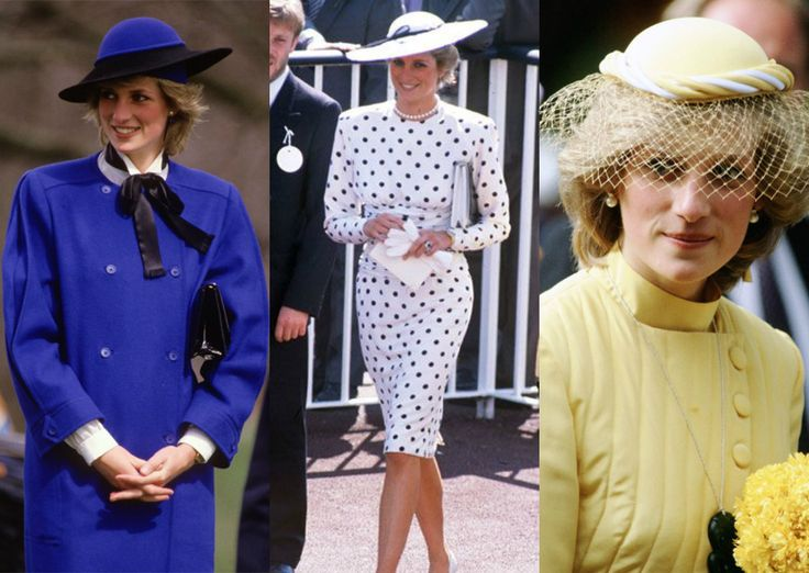 Lady Di ,idolatrada pelos Ingleses é um grande ícone feminino . Entre seus muitos predicados foi uma imbatível  fashionista.Diana foi uma princesa que ousou, lançou tendências e teve um guarda-roupas inspirador. Uma prova da importância de seus looks são os 79 modelos de seu guarda-roupa que foram leiloados em 1997 na Christie's e arrecadaram US$ 6 milhões para campanhas beneficentes. Em 31 de agosto de 1997, Diana foi morta em um acidente de carro .