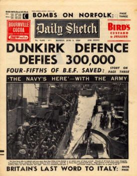 In May 1940, British, French and Belgian troops were cut off on the French coast by German forces and faced death or capture. A hastily assembled fleet of 850 'little ships', code-named 'Operation Dynamo', departed from Britain (many making several return voyages) and rescued over 338,000 British and French troops. The event inspired Winston Churchill's 'We shall fight them on the beaches' speech and gave rise to the phrase 'Dunkirk Spirit' and to the Brits' reputation for turning a defeat…