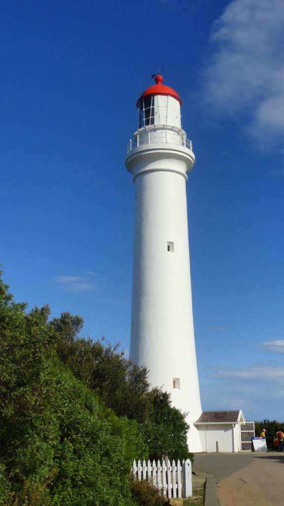 Don't visit Victoria's Surf Coast without taking a tour of the majestic Split Point Lighthouse at Aireys Inlet. OK for children over 5 years of age. #familytravel #lighthouse #greatoceanroad #victoria