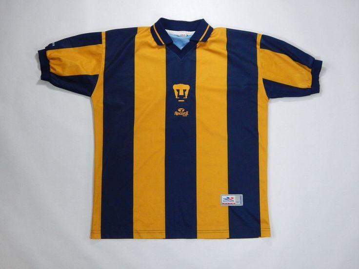 Recordi Team UNAM PUMAS futbol soccer jersey mint condition vintage  great color #RecordiTeam #PumasUNAM