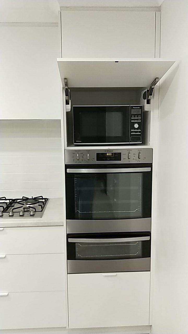 Hidden Microwave Wall Oven Hidden Microwave Home Kitchens