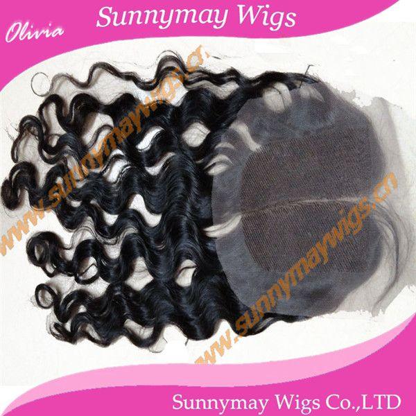 Sunnymay закрытие волос 120% плотность бразильский виргинский человеческие волосы в наличии пробор вьющиеся закрытие 4  x 4  в наличии