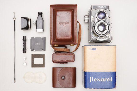 Flexaret VI TLR 6x6 Medium Format Film Camera Set with by ohsocult