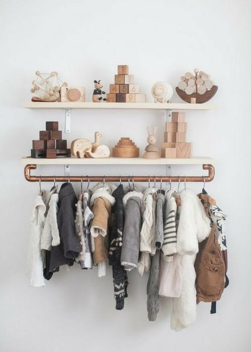 Nursery shelf ideas that are beautiful and functional. Organization the nursery with these great nursery organization tips