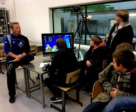 Civil Engineering -Laboratory in Technobothnia, Vaasa.