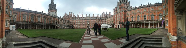 Royal Holloway, University of London (RHUL), formally incorporated as Royal Holloway and Bedford New College, is a publicresearch university and a constituent college of the federal University of London. The Egham campus was founded in 1879 by the Victorian entrepreneur and philanthropist Thomas Holloway. Royal Holloway College was officially opened in 1886 by Queen Victoria as an all-women college. http://hotels-search.consolidator.london/Place/Royal_Holloway_1.htm