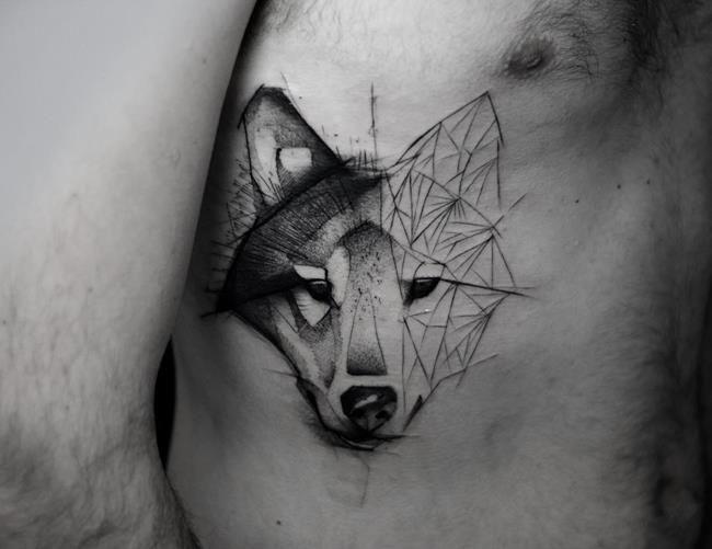 Karakalem Tadında Geometrik Dövmeler Tasarlayan Sanatçı Kamil Mokot'tan 20+ Çalışma Sanatlı Bi Blog 32