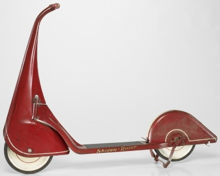 Skippy-Racer Scooter, 1933    Not a car but the lines are just beautiful.Vintage Collection, Random Retro, Vintage Object, Red Skippy Rac, Scooters 1933, Skippy Rac Scooters, Sculpture Mixed Media, Moto Soñada, Hot Wheels