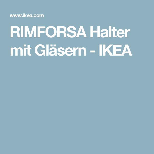 RIMFORSA Halter Mit Gläsern   IKEA