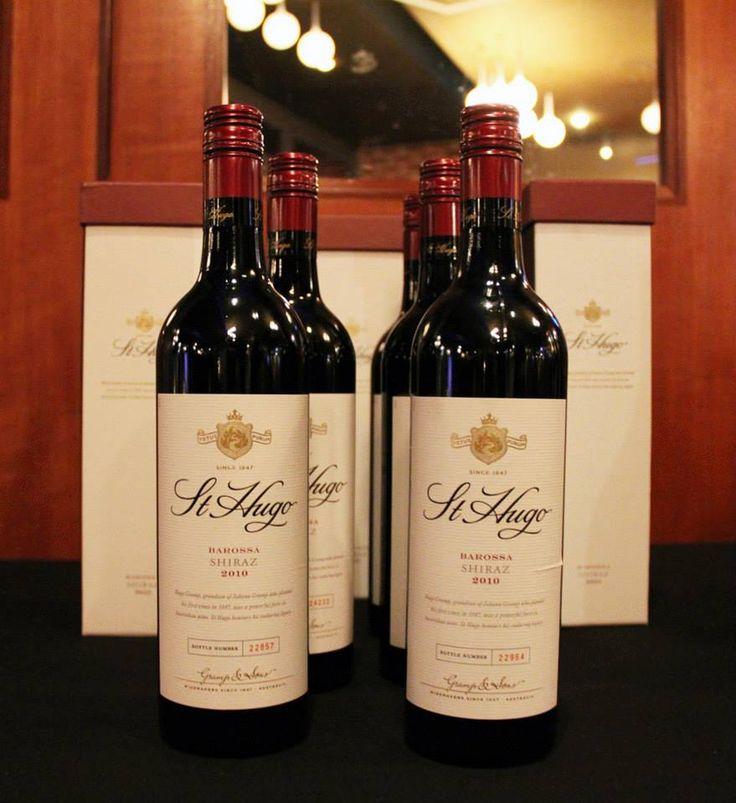 St Hugo wine dinner - Fullarton Room
