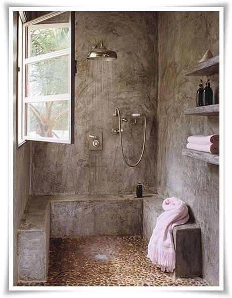 Oltre 25 fantastiche idee su doccia in pietra su pinterest log bagni cabina docce e doccia - Piatto doccia sassi ...