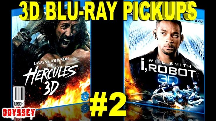 3D Blu ray Pickups #2