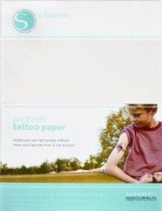 Printable : Tattoo Paper - Temporary