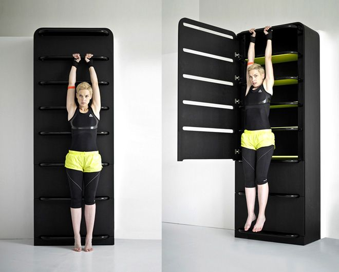 closet and gym equipment. take a look!
