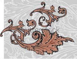 Risultati immagini per motivi decorativi a foglie d'acanto