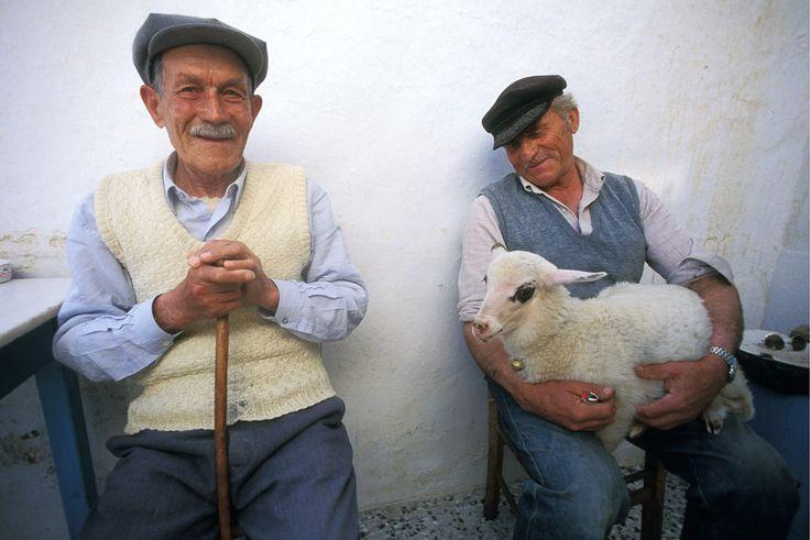 Next week's lamb kebab! #Amorgos Island, #Greece