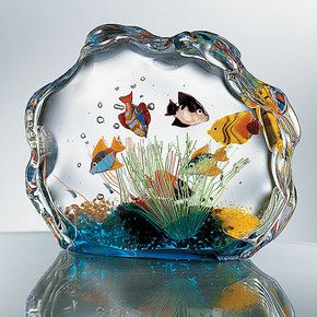 I love murano glass, and all the creativity.