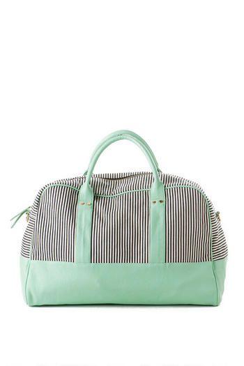 Napa Stripe Weekender Tote Great colors for Amy Butler Weekender Bag