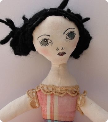 Cloth_doll_close: Google Image, Clothing Dolls, Fabrics Dolls, Embroidery Eye, Rag Dolls, Dolls Artists, Dolls Stories, Dolls Inspiration, Art Dolls